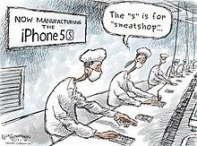 Solution stop sweatshop labor.