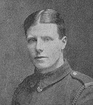 Jack Cartmell - Cartmell in uniform during the First World War.