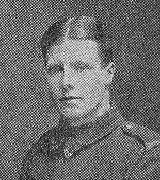 Jack Cartmell - Cartmell in uniform during the First World War.