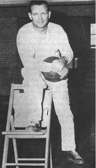 Texas Longhorns men's basketball - Jack Gray, UT basketball All-American player (1932–35) and head coach (1936–42, 1945–51)