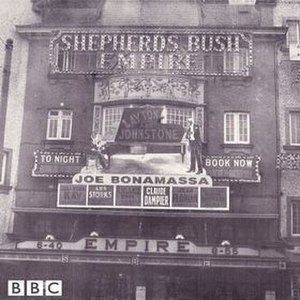 Shepherds Bush Empire (album) - Image: Joe Bonamassa Shepherds Bush Empire