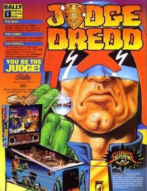 Judge Dredd (pinball) - Image: Judge Dredd Pinball