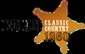 KMJM (AM) - Image: KMJM Classic Country 1360 logo