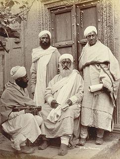 Kashmiri Pandit Hindu community native to Kashmir, India