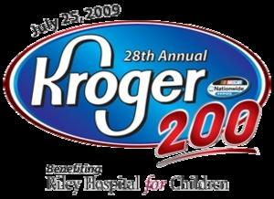Kroger 200 (Nationwide) - Image: Kroger 200 (ORP) race logo