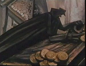 The Pied Piper (1986 film) - An example of the expressionist art design present in much of the film