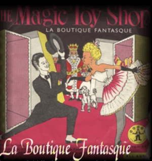 La Boutique fantasque - Poster for La Boutique fantasque. The can-can dancers are in the foreground with the other characters visible in the background.