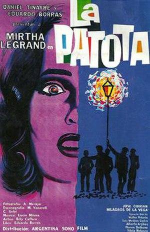 La patota (1960 film) - Theatrical release poster
