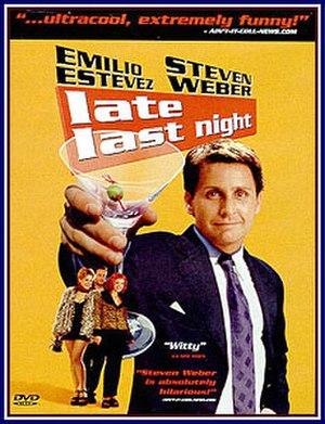 Late Last Night (film) - DVD cover