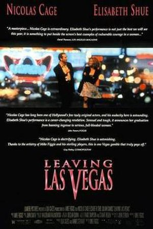 Leaving Las Vegas - Theatrical release poster