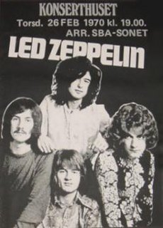 Led Zeppelin European Tour 1970