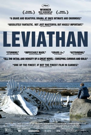 Leviathan (2014 film) - Theatrical Release Poster