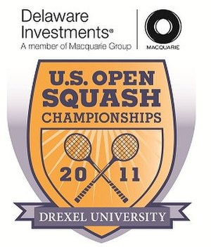 Men's United States Open (squash) 2011 - Image: Logo US Squash Open 2011