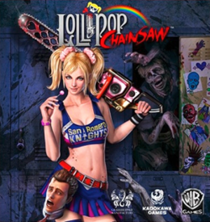 Lollipop Chainsaw - Image: Lollipop Chainsaw Cover Art