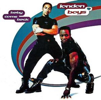 Baby, Come Back (The Equals song) - Image: London boys baby come back single