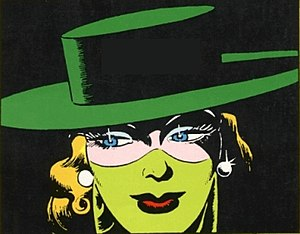 Lady Luck (comics) - Lady Luck. Art by Klaus Nordling.