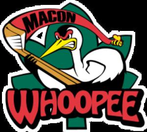 Macon Whoopee (ECHL) - Image: Macon Whoopee