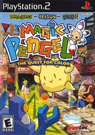Magic Pengel: The Quest for Color - North American cover art