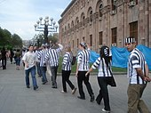 "March of ""Political Prisoners"""