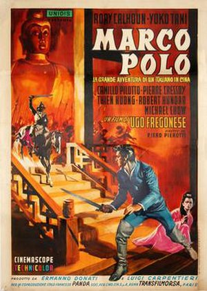 Marco Polo (1962 film) - Image: Marco polo italian movie poster md
