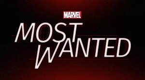 Most Wanted (TV pilot) - Image: Marvel's Most Wanted logo