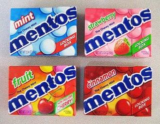 Mentos Brand of mints