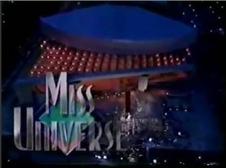 Miss Universe 1993 - Miss Universe 1993 Titlecard