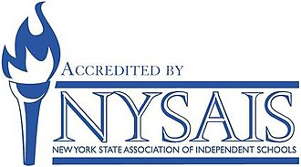 New York State Association of Independent Schools - Image: NYSAIS Accreditation Logo