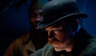 Dum Dum Dugan - Neal McDonough as Dum Dum Dugan in the 2011 film Captain America: The First Avenger.