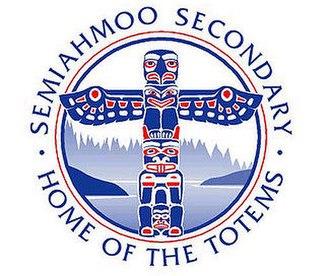 Semiahmoo Secondary School - Image: New Totem