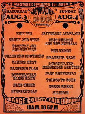 Newport Pop Festival - Image: Newport Pop Festival poster