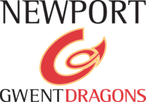 Dragons (rugby union) - This is the logo used by the regional team between 2003 and 2017.