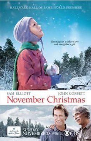 November Christmas - Promotional poster