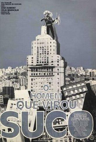 O Homem que Virou Suco - Theatrical release poster