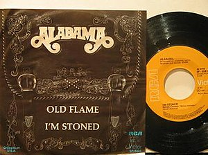 Old Flame (song) - Image: Old Flame Alabama