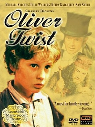 Oliver Twist (1999 miniseries) - DVD cover