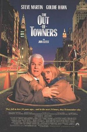 The Out-of-Towners (1999 film) - Theatrical release poster