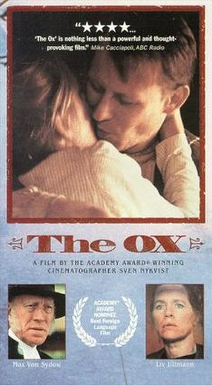 The Ox (film) - US theatrical poster