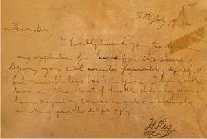 John Oxley - Request for leave due to illness dated 5 July 1824