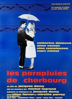 <i>The Umbrellas of Cherbourg</i> 1964 film by Jacques Demy