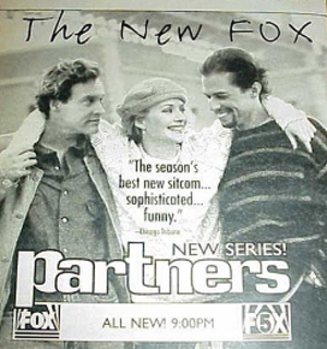 Partners (1995 TV series) - Image: Partners tv guide poster