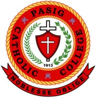 Pasig Catholic College School in Pasig, Metro Manila, Philippines