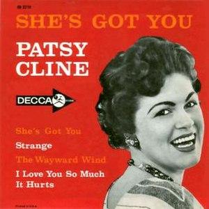 She's Got You (EP) - Image: Patsy Cline She's Got You