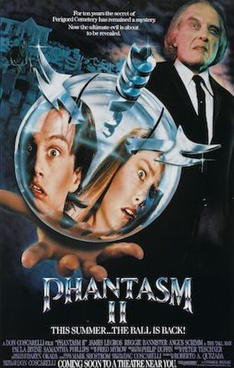 Phantasm II - U.S. theatrical poster