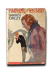 a review of emma orczys novel the scarlet pimpernel Book review of the scarlet pimpernel by emmuska orczy, a historical fiction novel about an undercover hero.
