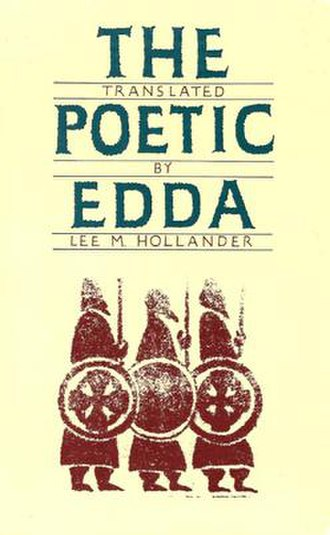 Poetic Edda - The cover of Lee M. Hollander's Poetic Edda.