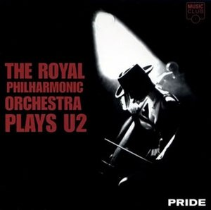 Pride: The Royal Philharmonic Orchestra Plays U2 - Image: Pride RP Oplays U2 tribute cover