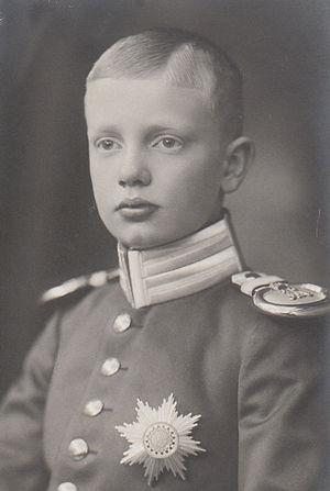 Prince Ernst Heinrich of Saxony