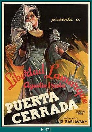 Closed Door (1939 film) - Image: Puerta cerrada 1939