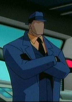Question (comics) - The Question as seen in Justice League Unlimited.